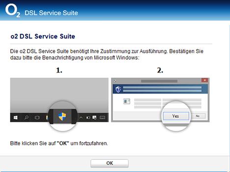 o2 DSL Service Suite installieren