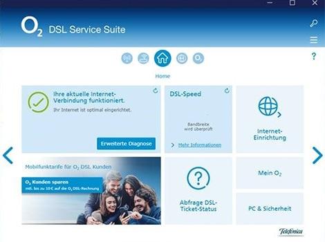 DSL Service Suite Home