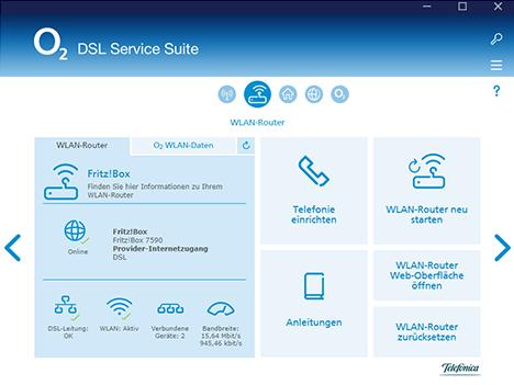 DSL Service Suite Internet