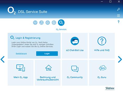 o2 Service Suite o2 Services
