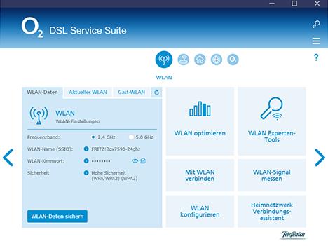 o2 Service Suite WLAN