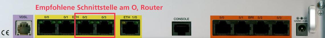 Router mit o2 All-IP verbinden