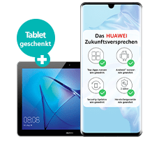 HuaweiP30 Pro mit Tablet