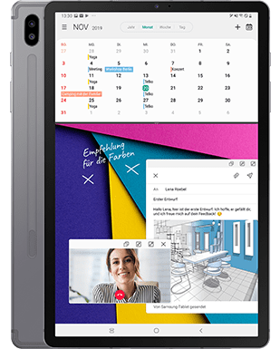 Samsung Galaxy Tab S6 Detailansicht