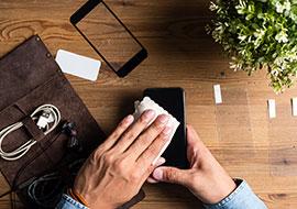 Handy-Kratzer entfernen: Tools