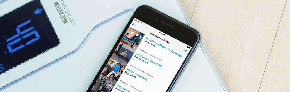 Abnehmen mit den besten Fitness-Apps