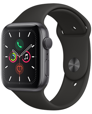 Apple Watch S5 Alu 44 Sport Detailansicht