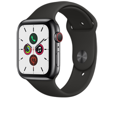 Apple Watch S5 LTE Steel 44 Sport