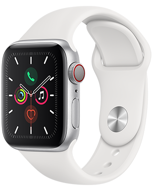 Apple Watch S5 LTE Alu 40 Sport Detailansicht