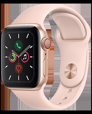 Apple Watch S5 LTE Alu 40Sport Detailansicht