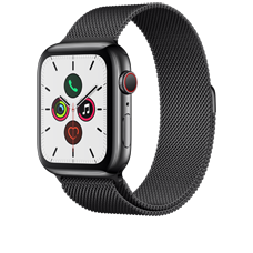 Apple Watch S5 LTE Steel 44 Milanaise
