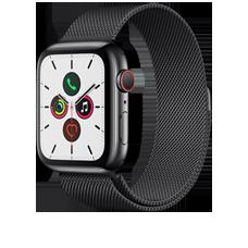 Apple Watch S5 LTE Steel 44 Milanaise