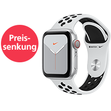 Apple Watch S5 Nike+ LTE Alu 44 Sport