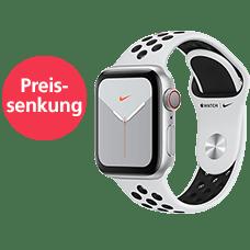 Apple Watch S5 Nike+ LTE Alu 44Sport