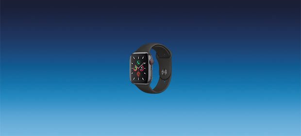 Apple Watch S5 LTE Alu 44 Sport