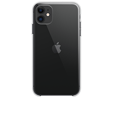 Apple iPhone 11 mit Apple Clear Case