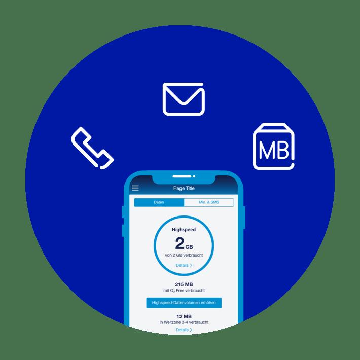 Mobilfunkvertrag: Verbrauch einsehen
