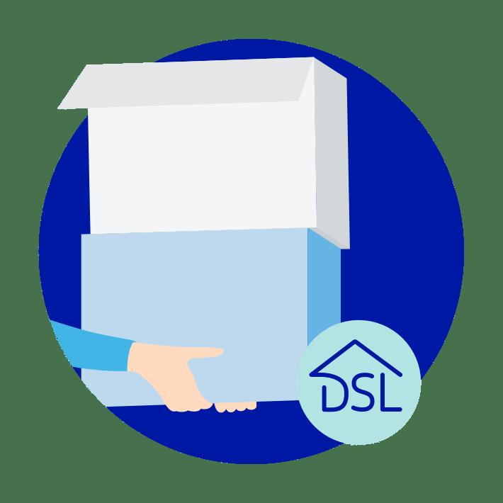 DSL-Vertrag: Umzug