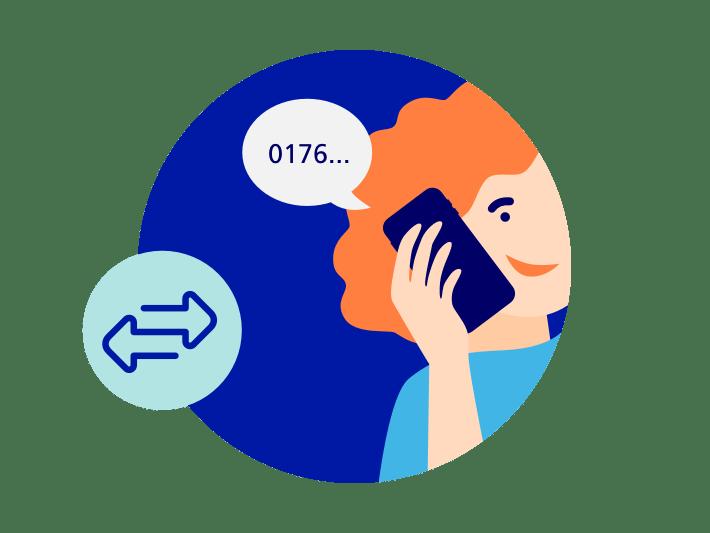 Rufnummer beim alten Anbieter freigeben
