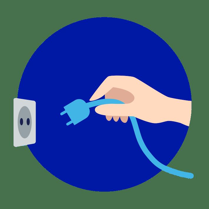 Router vom Strom trennen