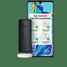 HuaweiP30 mit UE Boom3