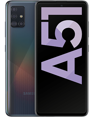 Samsung Galaxy A51 Detailansicht