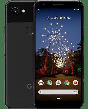 Google Pixel 3a Detailansicht