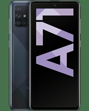 Samsung Galaxy A71 Detailansicht