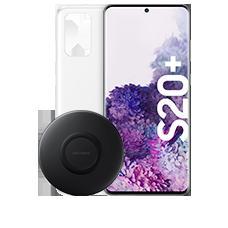 Samsung Galaxy S20+ mit Starterset