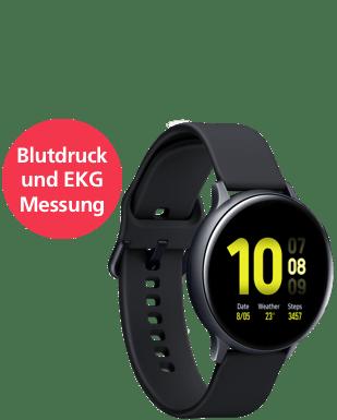 Samsung Galaxy Watch Active2 Alu LTE 44 Detailansicht