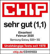 Testlogo Samsung Galaxy S20+ 5G