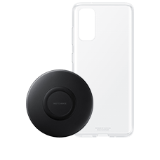 Clear Cover und Wireless Charger Pad EP-P1100