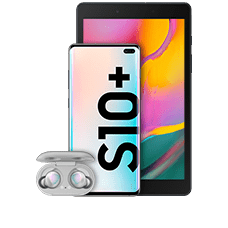 Samsung Galaxy S10+ (512GB) mit Tablet