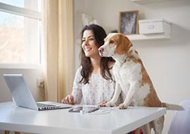 Individueller Lebensstil im Home Office