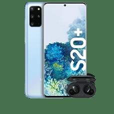 Samsung Galaxy S20+ mit Galaxy Buds+