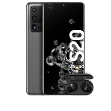 Samsung Galaxy S20 Ultra 5G mit Galaxy Buds+