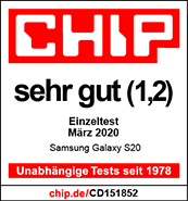 Testlogo Samsung Galaxy S20