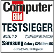 Testlogo Samsung Galaxy S20 Ultra 5G