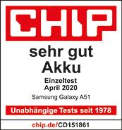 Testlogo Samsung Galaxy A51