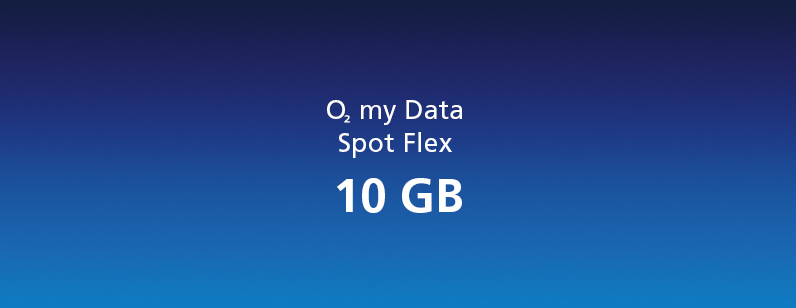 o2 my Data Spot Flex 10 GB