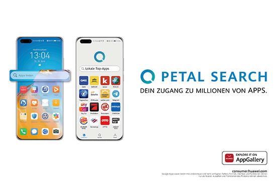 Huawei App Suche