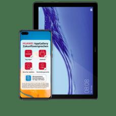 HuaweiP40 mit Tablet