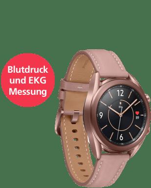 Samsung Galaxy Watch3 LTE 41 Detailansicht