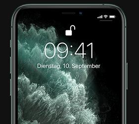 Apple iPhone 11 Pro: Sicherheit mit Face ID