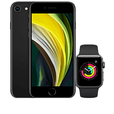 Apple iPhone SE mit Watch S3 LTE