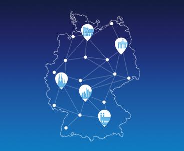 5G-Netz o2: Karte Deutschland
