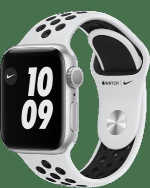 Apple Watch Nike Series 6 LTE 40 Alu Sport Detailansicht