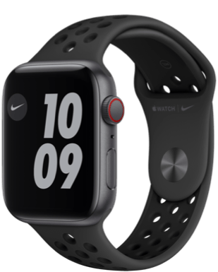 Apple Watch Nike SE LTE 44 Alu Sport Detailansicht