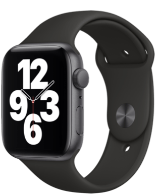 Apple Watch SE GPS 44 Alu Sport Detailansicht