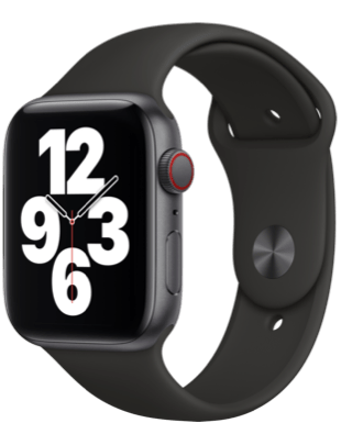 Apple Watch SE LTE 44 Alu Sport Detailansicht